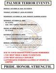 Palmer Events: Oct 26 – Nov 2, 2020