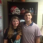 Jordon McKinney and Callie Smith Named Vincent Dooley Award Winners