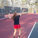 Dalton JV Girls Tennis defeats Darlington