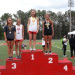 OLIVIA ROSS sets DHS Record and Wins Region Championship!