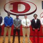 Dalton Football Players Sign Today