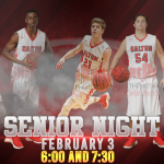 BOYS Basketball Senior Night Tonight!!