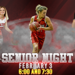 GIRLS Basketball Senior Night Tonight!!!