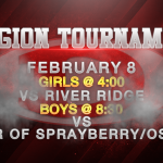 BASKETBALL REGION TOURNAMENT CONTINUES TOMORROW!