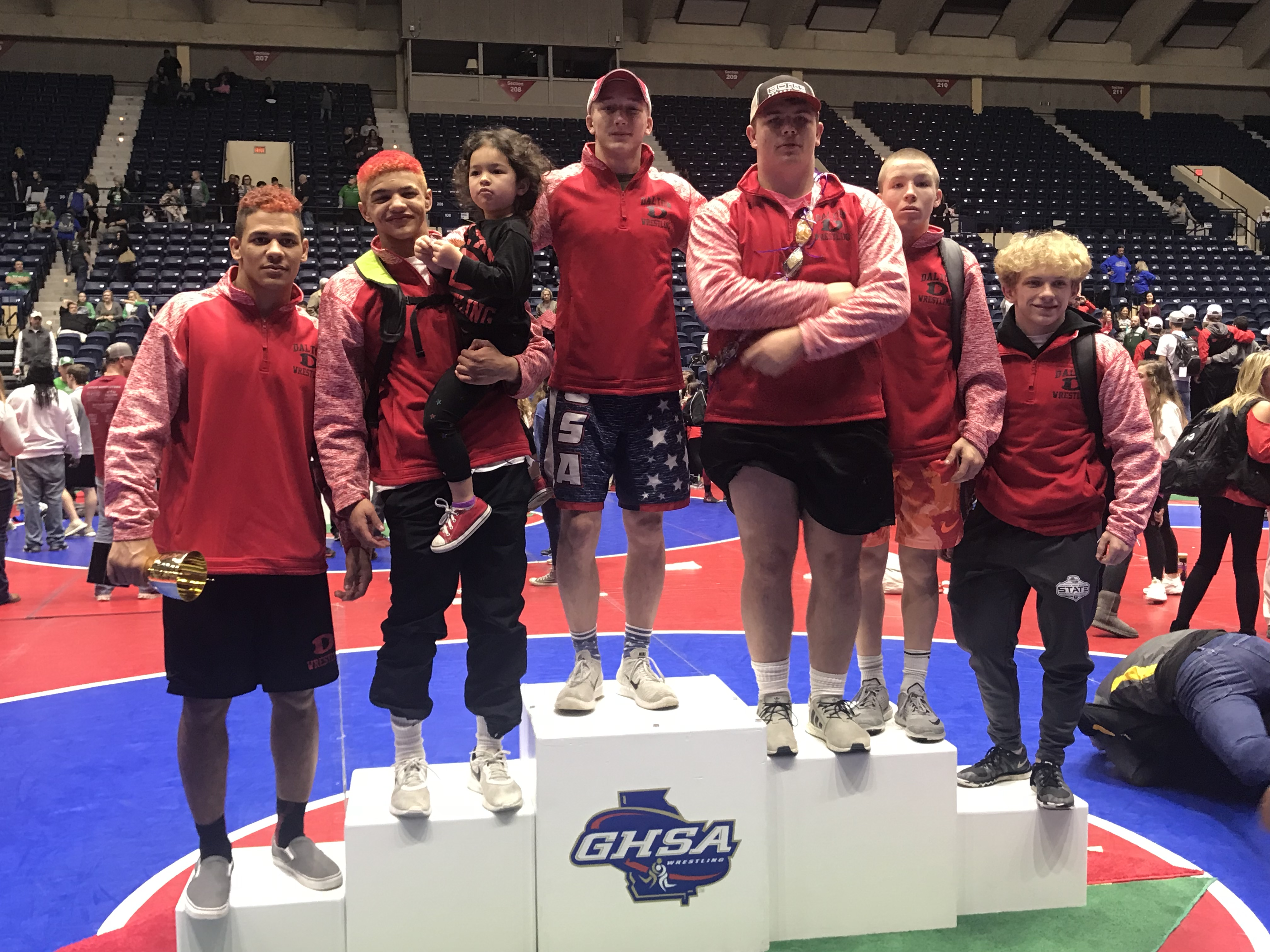 DHS Wrestling Has Great Finish at State!!!