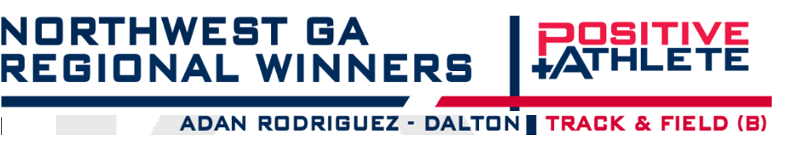 Adan Rodriguez Wins NWGa Positive Athlete Award