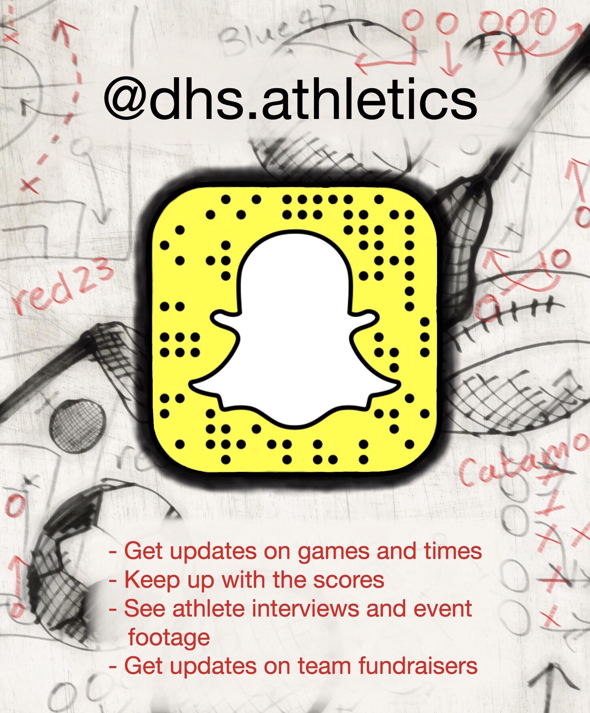 DHS Athletics Snapchat