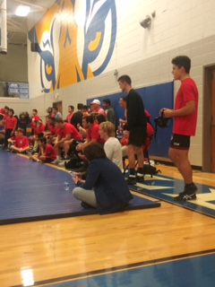 DHS Wrestlers Compete at Ringgold!