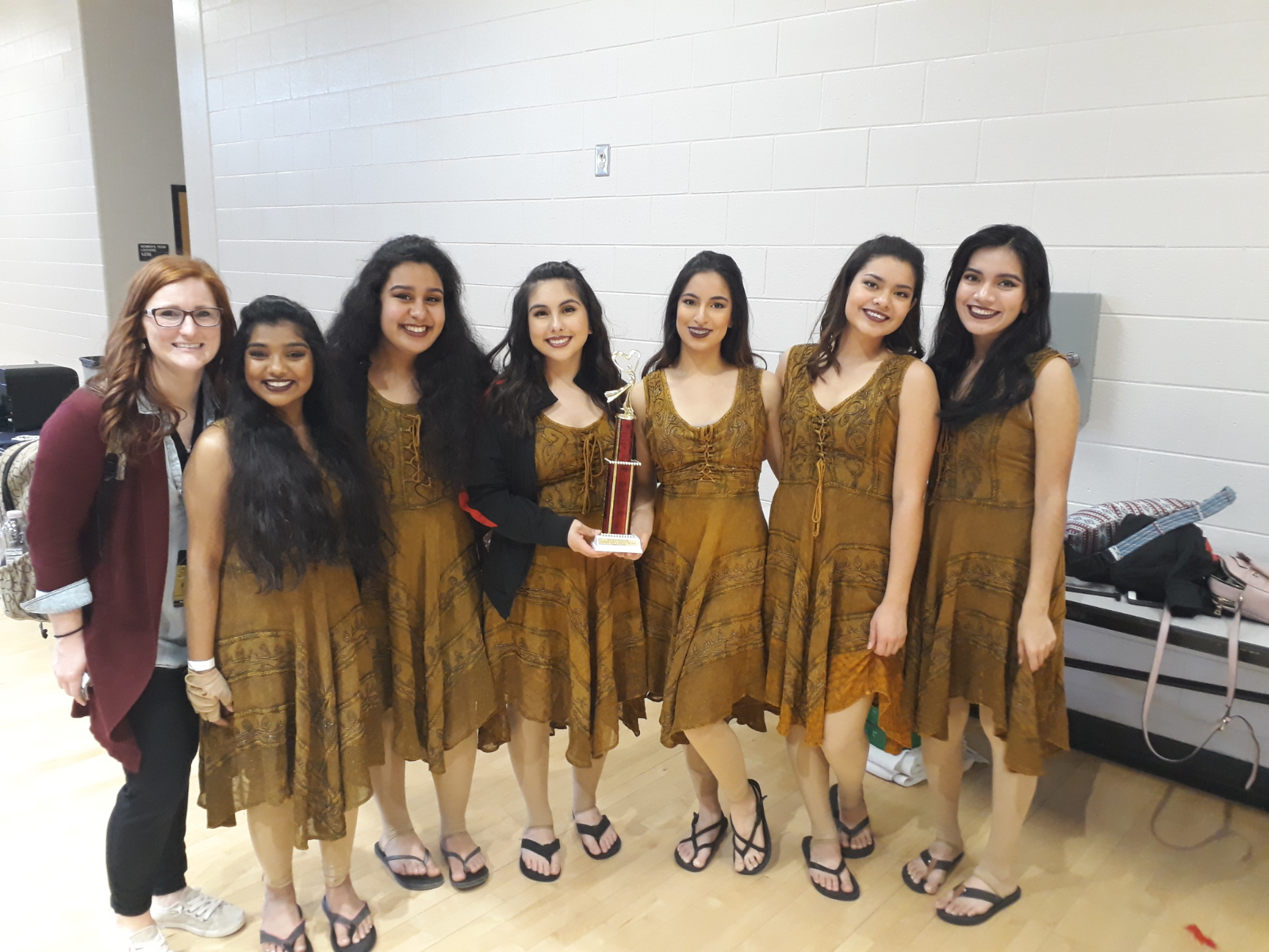 DHS Color Guard places 1st at Mill Creek!