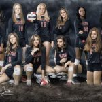 Dalton Volleyball Sweeps Creekview & Osborne