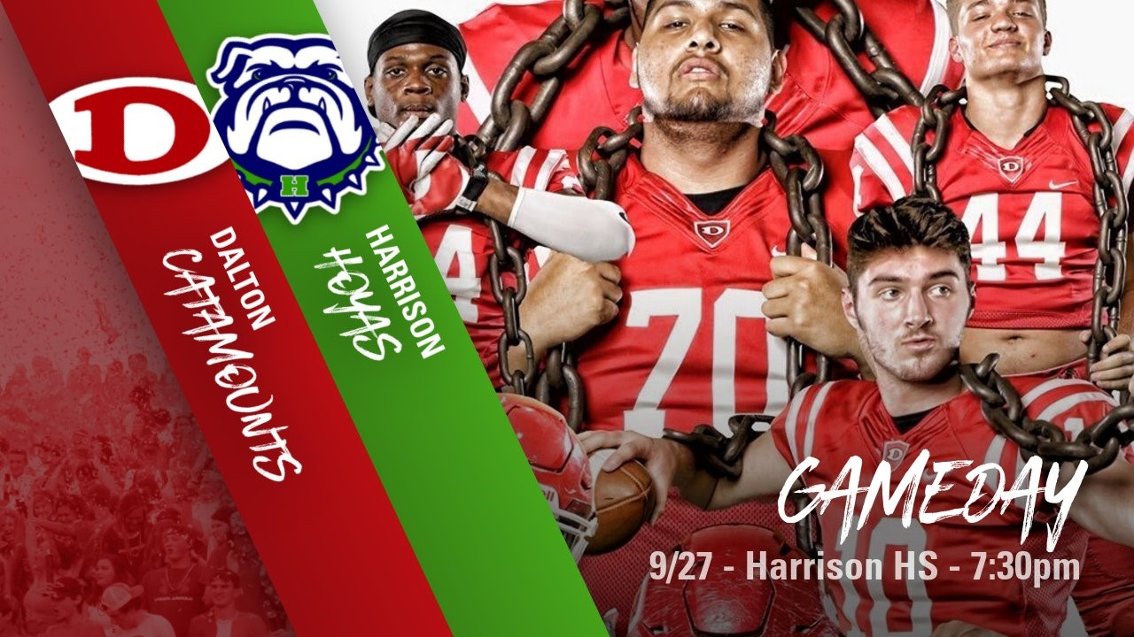 Game Night Friday!  We Need ALL BIG RED FANS at Harrison!!!