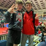 Noland and Hunt Win State Championship in Wrestling!