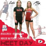 Blanchard and Coleman Compete in TFCUSA Indoor Track National Championships!!!