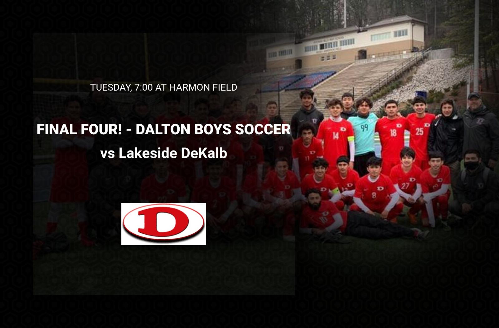 FINAL FOUR! Tuesday 7:00 at Harmon vs Lakeside DeKalb