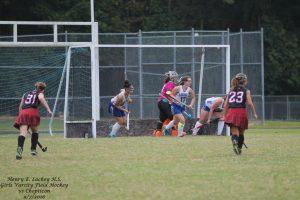 Girls Varsity Field Hockey vs Chopticon 9/7/2016