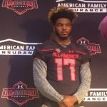 Nathan Proctor Receives UnderArmour Jersey
