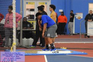 Girls and Boys Indoor Track Team – SMAC Meet – P.G. Co Sports Complex – 12/14/2016