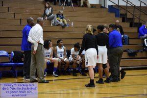 Girls Varsity Basketball vs Great Mills – 12/16/2016
