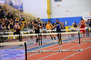 Varsity Indoor Track Team – PG Co Sports Complex – 1/16/2017