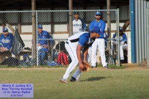 Baseball – Varsity vs St Marys Ryken – 3/21/2017