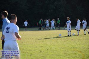 Boys Varsity Soccer vs Great Mills – 9/13/2017