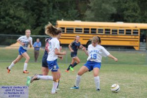 Girls JV Soccer vs Northern – 9/26/2017