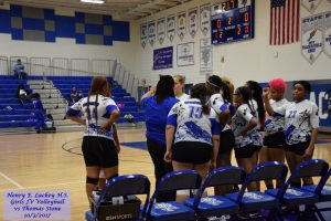 Girls JV Volleyball vs Thomas Stone – 10/3/2017