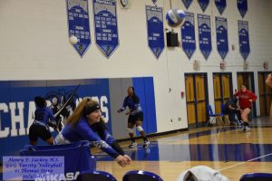 Girls Varsity Volleyball vs Thomas Stone – 10/3/2017