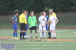 Boys Varsity Soccer vs North Point – 10/18/2017