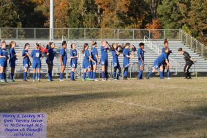 Girls Varsity Soccer vs McDonough – 10/31/2017 – Region 1A Playoffs