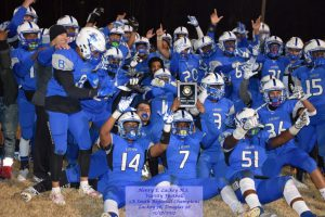 Varsity Football vs Douglas PGCo – 1A South Region Champions – 11/17/2017