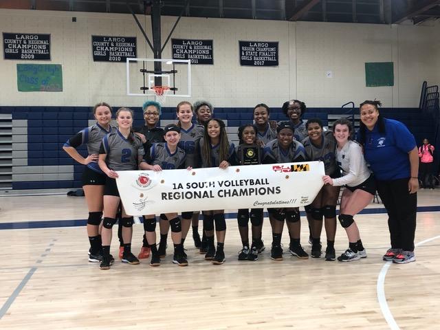 Volleyball Wins Regionals