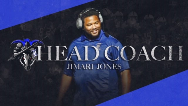 Jones named new Head Coach