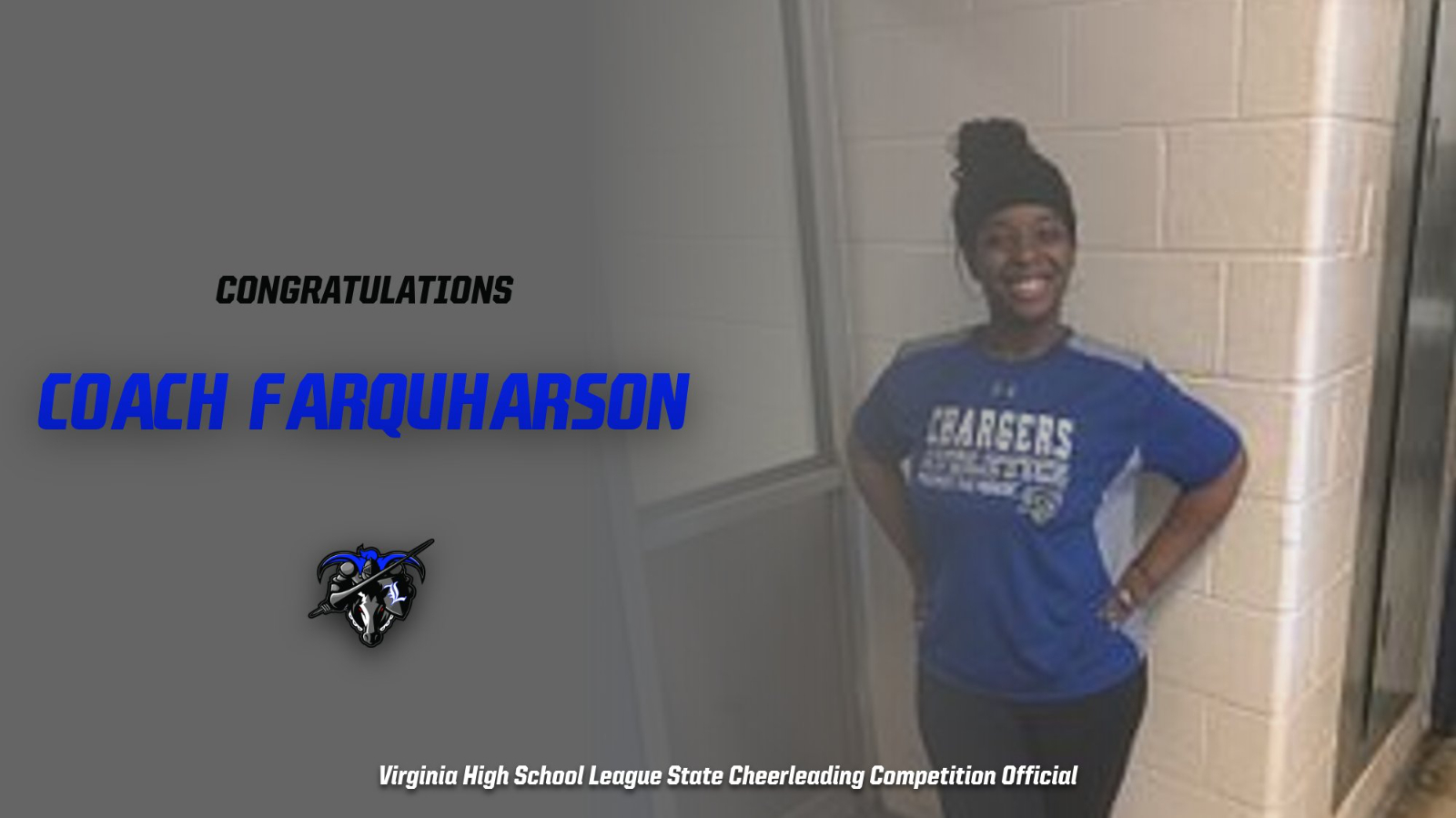 Farquharson Selected as VHSL Official