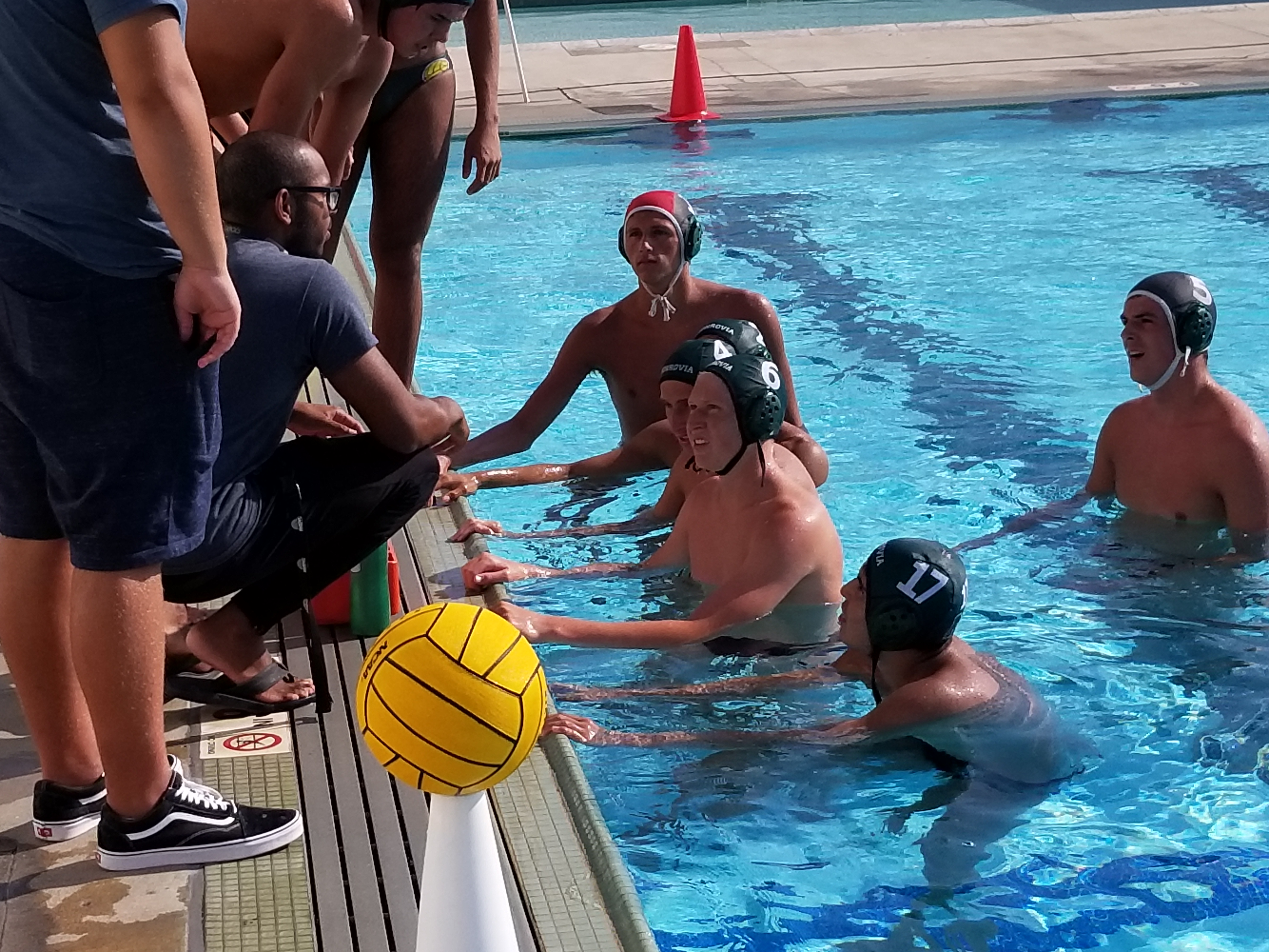 BOYS' WATER POLO Notches a Double-OT Victory Over Arcadia!! Great Game by Both Squads!