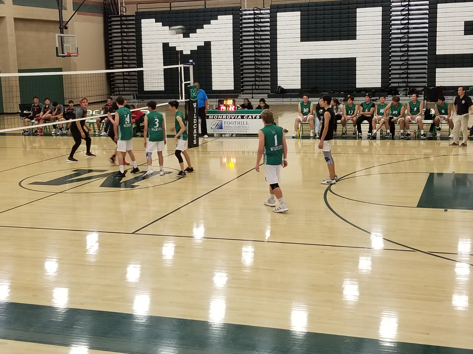 MHS Boys' Volleyball – Starts Season 12-3! Currently Ranked #1 in CIF-SS Div 6!
