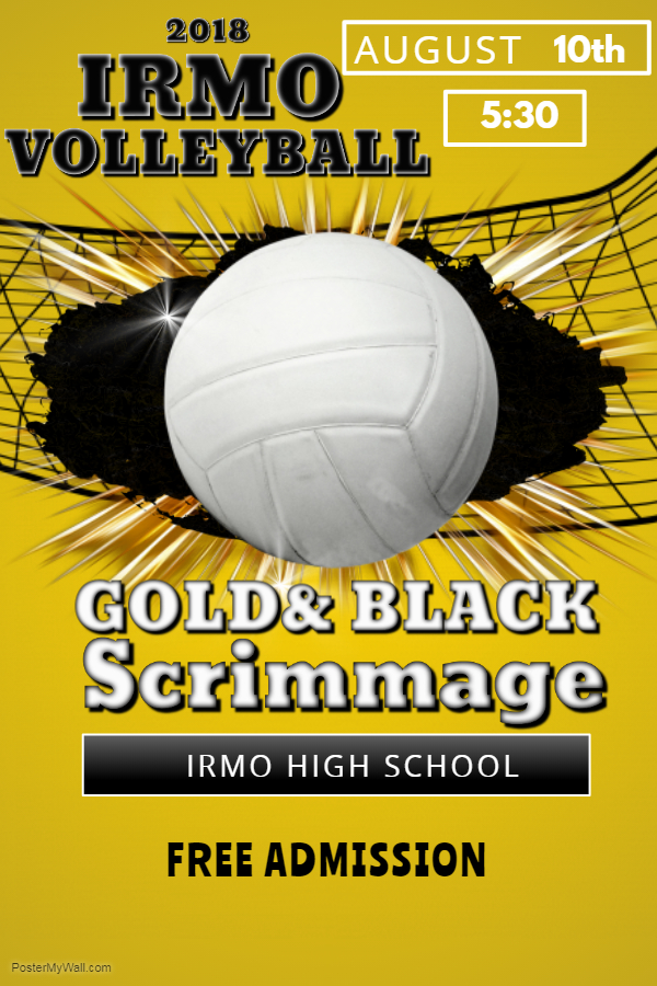 Black and Gold  Scrimmage