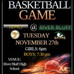IRMO Basketball travels to River Bluff to Open the Regular Season
