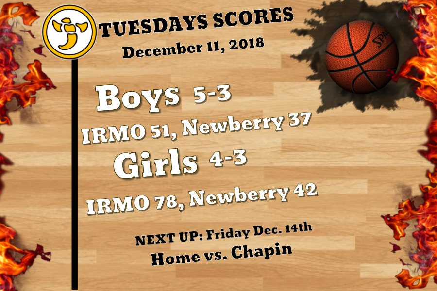 Irmo sweeps Newberry for the Season