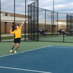 Boys Varsity Tennis falls to Dutch Fork 5 – 1