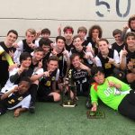 Congratulations to the Irmo JV Soccer team for winning the 2019 Yellow Jacket Tournament!