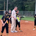 Softball's Savannah Rubinez honored on Senior NightI