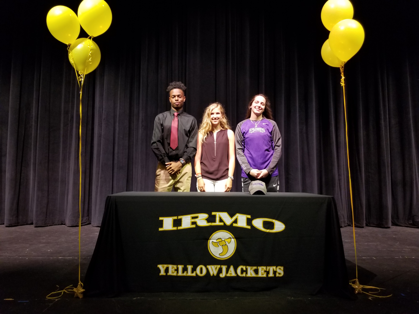 Irmo has three student athletes sign athletic scholarships!