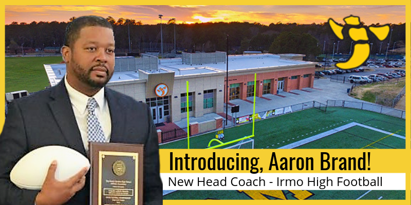 Aaron Brand named new football coach at Irmo !