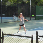 Girls Varsity Tennis Loses Close Match at Airport 4-2