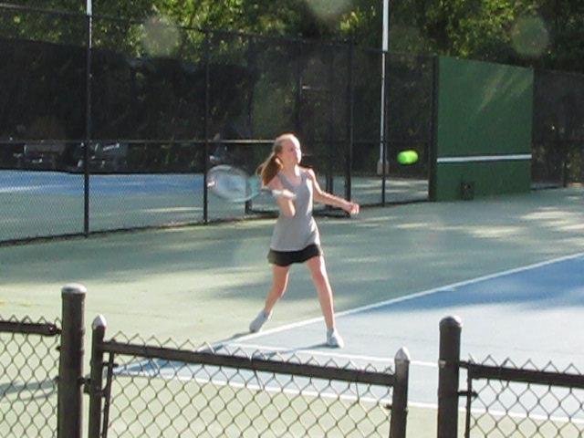 Girls Varsity Tennis Loses Close Match at Airport 4-2