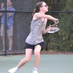 Girls Varsity Tennis falls to Airport 5 – 1