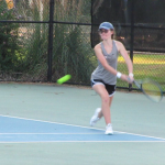 Girls Varsity Tennis falls to Sumter 4 – 3
