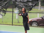 Girls Junior Varsity Tennis falls to Dutch Fork 4 – 1