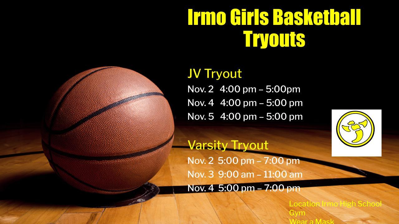 Girls' Basketball Tryouts